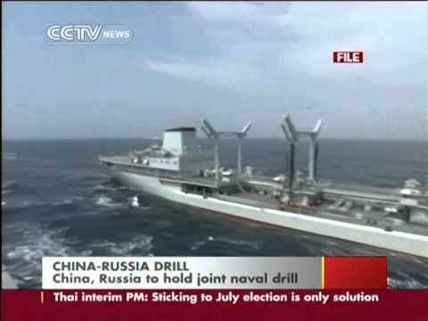 China and Russia to hold joint naval drill