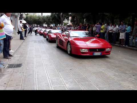 BATTLE REV & HARD SOUND - FERRARI 512TR 360 MODENA & F40 REV EXHAUST Video