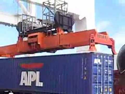 Ship Container Loading & Unloading