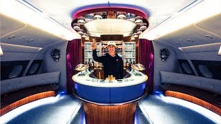 THE INSANE EMIRATES BUSINESS CLASS! A380 | VLOG² 76