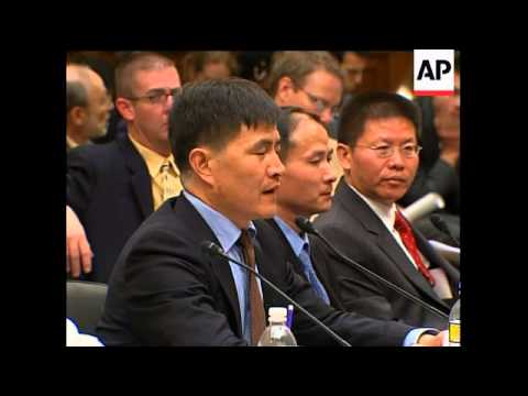 Tiananmen Square survivors testify to rights committee