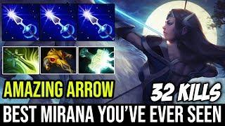 Probably the Best Mirana You've Ever Seen - INCREDIBLE ARROW PREDICTION 32KIlls By nongrata Dota 2