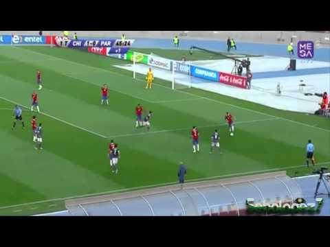 Felipe Gutiérrez  V/S Paraguay - 05/09/2015