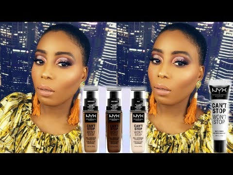 NYX AND ALISSA ASHLEY CANT STOP WONT STOP FOUNDATION REVIEW