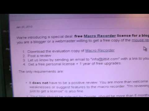 free macro recorder review from JIT BIT