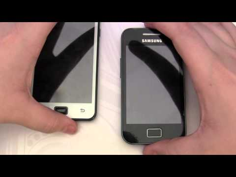 Samsung Galaxy Ace vs Samsung Galaxy S2 - Comparison Video