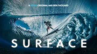 SURFACE: A New Perspective From Inside Tahiti's Crystal Clear Waves