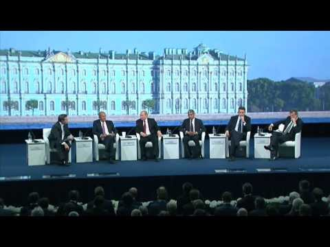 Answer to a question at St Petersburg International Economic Forum session