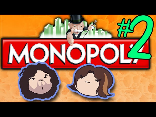 Monopoly: Can't Afford It! - PART 2 - Game Grumps VS