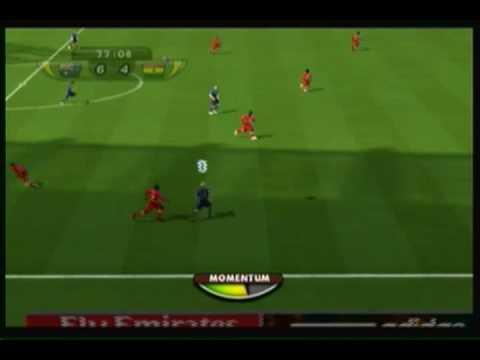 Fifa World Cup 2010 South Africa (Wii) Ghana vs Australia 2/2