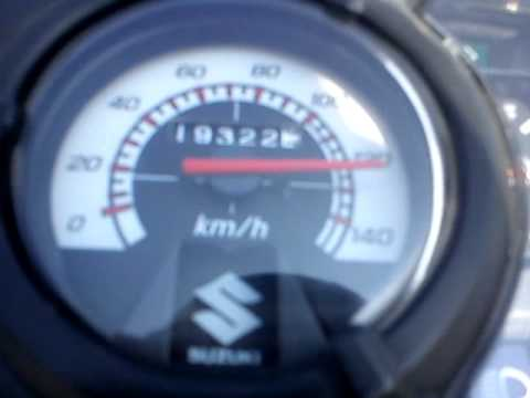Suzuki Smash 115 Setup 130 Km/h Suzuki Smash 115 All