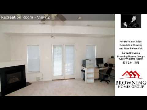 5747 GOVERNORS POND CIR, ALEXANDRIA, VA Presented by Aaron Browning.