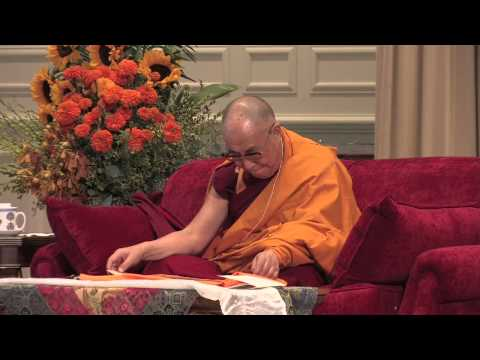 The Dalai Lama at Emory University (2013): Buddhist Teaching (Part 2 of 2)