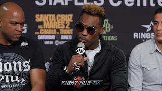 "JERMELL CHARLO TO JARRETT HURD ""YOU KNOW WHAT TIME IT IS!"" INVITES HURD TO HIS FIGHT"