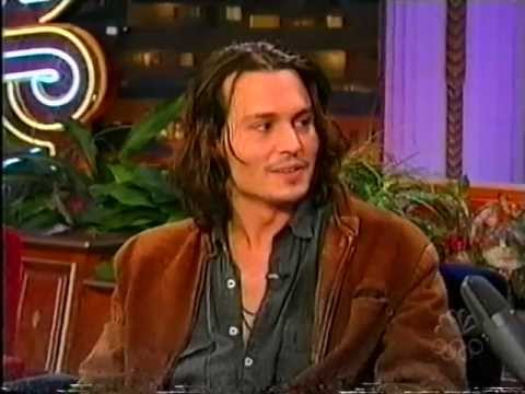 Johnny Depp has an enormous cockroach