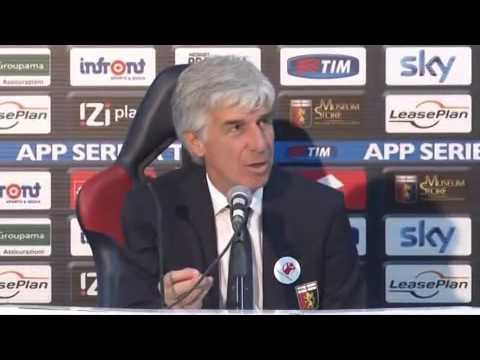 Genoa, Gasperini: 'Certi tifosi sono incompetenti'