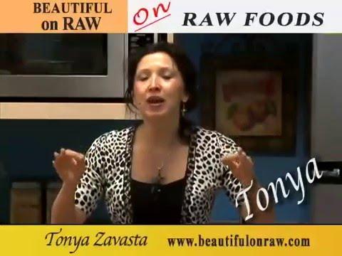 TONYA ZAVASTA – ON RAW FOODS