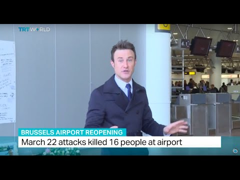 Brussels airport reopens after deadly attack, Kevin Ozebek reports