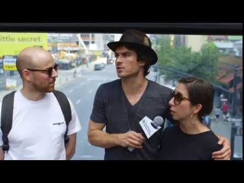 24 Hours of Reality: Man on the Street with Ian Somerhalder (Hour 1)