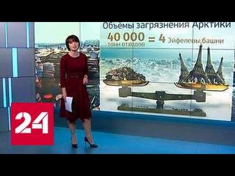 Погода 24: загрязнение Арктической зоны