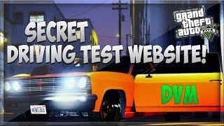 GTA 5 Online: Secret Driving Test Website! - Los Santos Driving Lessons (DMV) [GTA V Easter Egg]