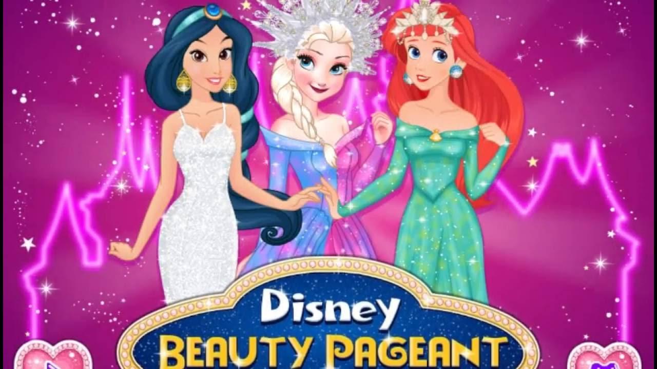 Играть в игры принцессы диснея конкурсы красоты