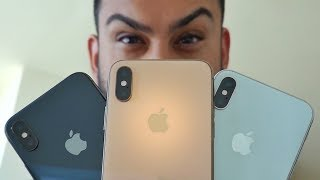 iPhone Xs - Gold vs Space Gray vs Silver