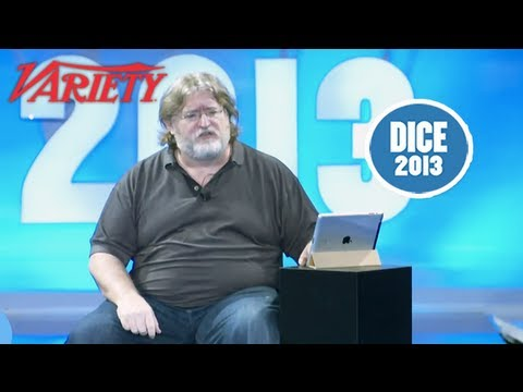 "Valve Founder Gabe Newell ""A View on the Next Steps"" - Opening Keynote - D.I.C.E. SUMMIT 2013"