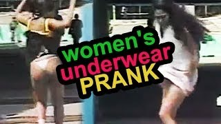 Vapor Pressure PRANK shows Women's Underwear in Brazil