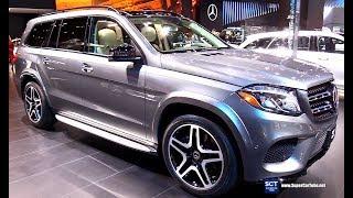2018 Mercedes Benz GLS 550 Grand Edition - Exterior Interior Walkaround - 2018 Detroit Auto Show