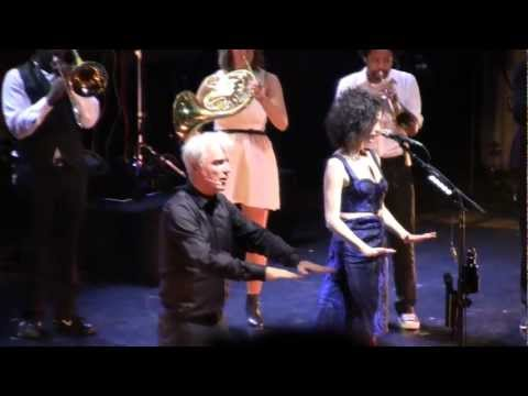 David Byrne &amp; St. Vincent 10/2/12 Nashville, TN @ Ryman Auditorium