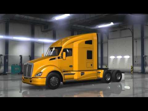 [Cheat] Comment être au niveau 50 en 5 min   American Truck Simulator!