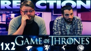 "Game of Thrones 1x2 REACTION!! ""The Kingsroad"""