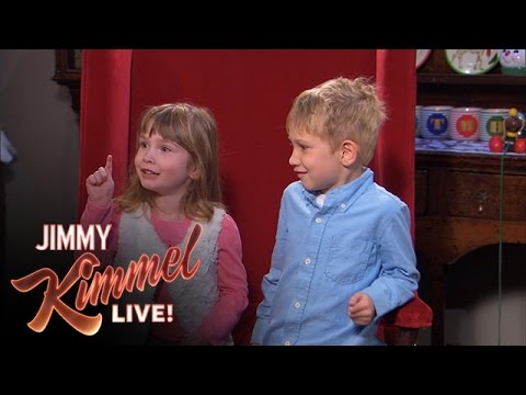 Naughty or Nice with Jimmy Kimmel and Guillermo #2