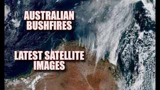 Australian Bushfires Seen From Space Latest Views - New South Wales / Queensland