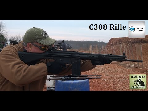 C308 308 Rifle Range Report    CAI HK91 Clone