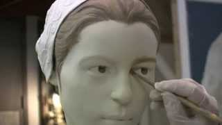 Facial reconstruction of Jane, a young female Jamestown colonist