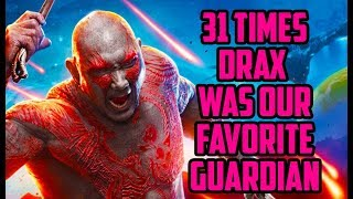 31 Times Drax the Destroyer Was Our Favorite Guardian