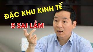5 sai lầm cơ bản của luật đặc khu kinh tế dưới góc nhìn trợ lý cho Nguyễn Xuân Phúc