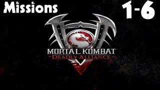 Mortal Kombat: Deadly Alliance - Konquest Walkthrough - Missions 1-6