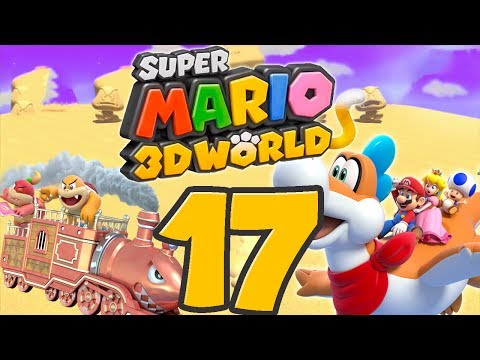Let s Play Super Mario 3D World Part 17: Bowsers Schergen-Express