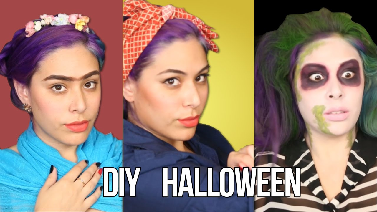 Last minute EASY Halloween Costumes Ideas ♥ DIY - YouTube
