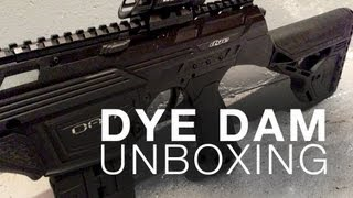 AN ELECTRONIC MAG-FED PAINTBALL MARKER?! - Dye DAM Unboxing