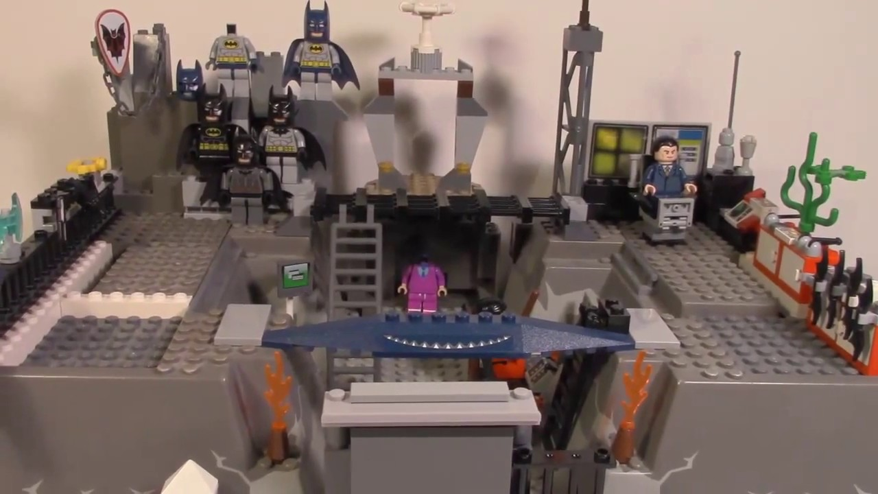 Lego Batman Batcave Custom Lego | Batman Custom Batcave