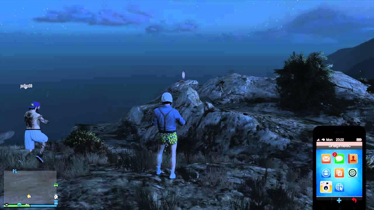 GTA V PS4 online GHOST...