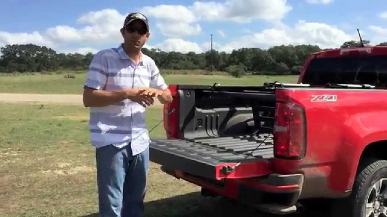 2015 Chevy Colorado Bed Accessories Youtube