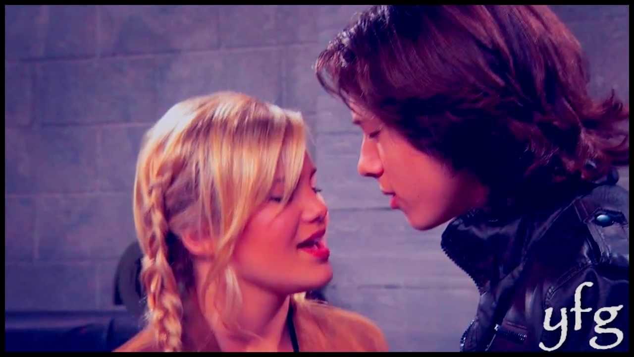 Olivia Holt And Leo Howard Kissing On The Lips Kickin it - Jack and Kim