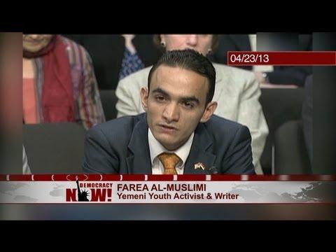 As Obama Shuns Hearing, Yemeni Says U.S. Drone War Terrifying Civilians, Empowering Militants