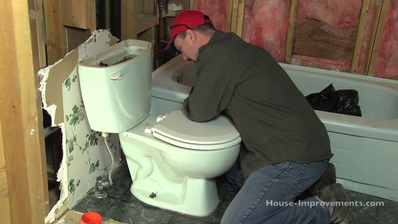 how to remove a toilet youtube. Black Bedroom Furniture Sets. Home Design Ideas