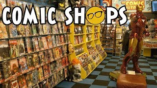 Another Comic Shop Might Be Closing. Marvel and DC Double Down.